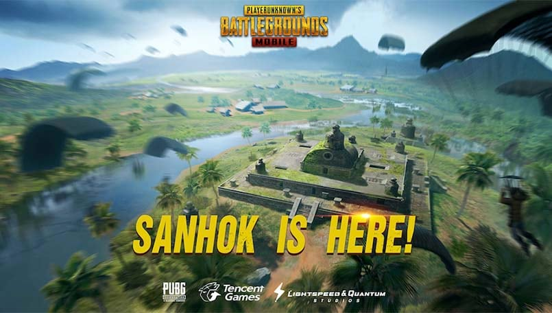 PUBG Mobile servers are down currently for the 0.8.0 Sanhok Update