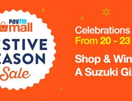 Paytm Mall Festive Season Sale starts on September 20