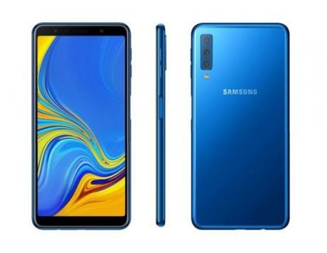 Samsung officially launches Galaxy A7 (2018) with triple cameras