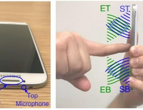 SonarSnoop can identify the unlock pattern on your Android smartphone using sonar