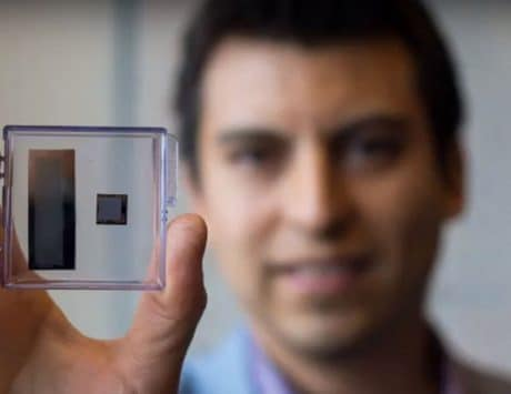There's a new band-aid sized wearable ultrasound device from UBC researchers