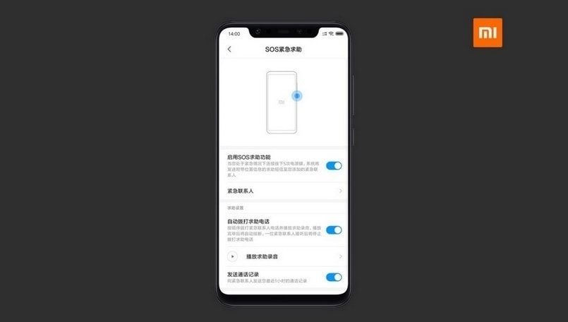 Xiaomi brings SOS feature to the developer version of MIUI 10 for five devices