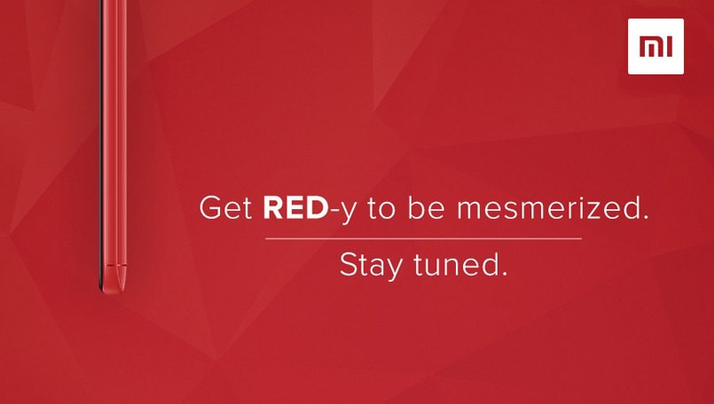 Xiaomi Redmi Note 5 Pro red color variant teased ahead of possible launch tomorrow