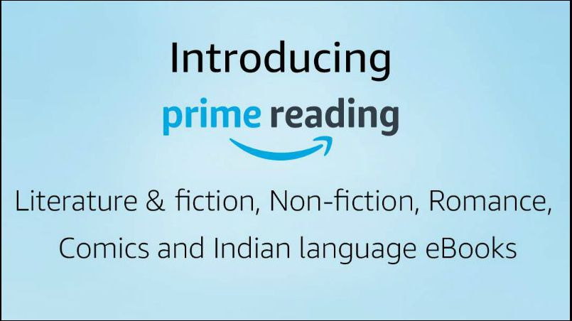 Amazon Prime Reading service launched in India; gives access to 100s of free ebooks