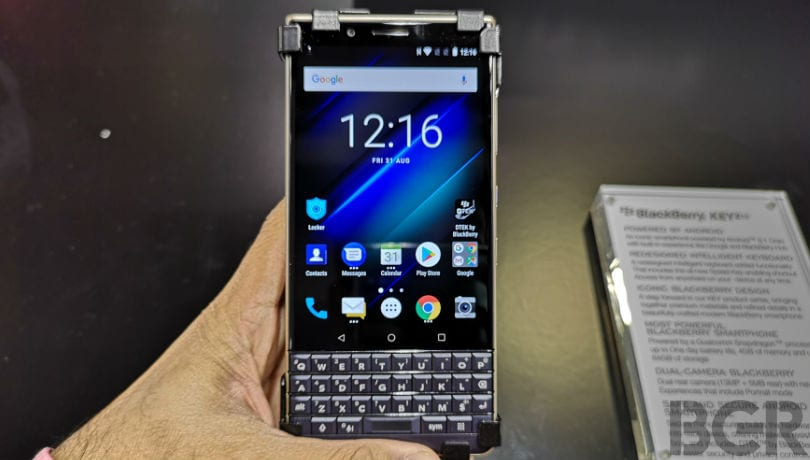 BlackBerry 'Adula' smartphone with Android Pie may be in works
