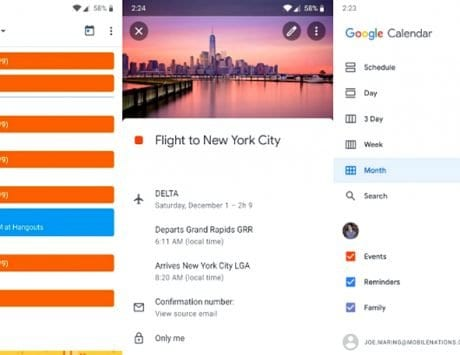 Google Calendar v6.0 update introduces 'Material Theme' design
