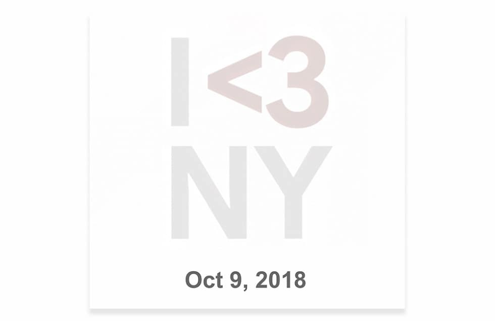 Google Pixel event officially announced for October 9 in New York; Google sends invites