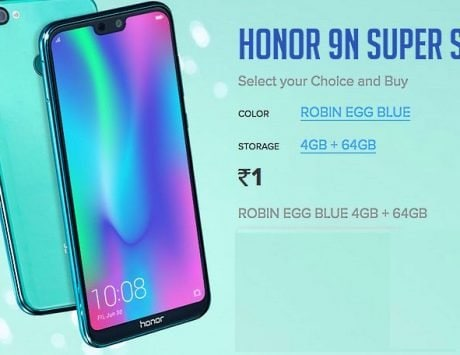 Honor 9N Robin Egg Blue color variant for Re 1: Here's how to buy