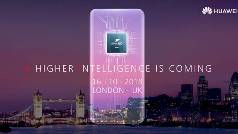 Huawei Mate 20, Mate 20 Pro official launch invite for October 16 teases Kirin 980, AI intelligence