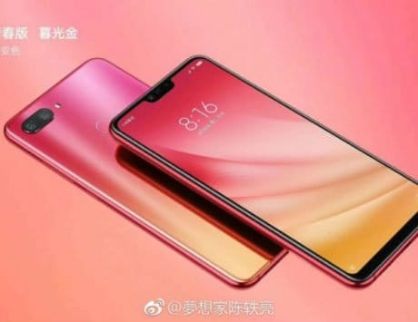 Xiaomi Mi 8 Youth Edition leak reveals glass back and gradient colors ahead of September 19 launch