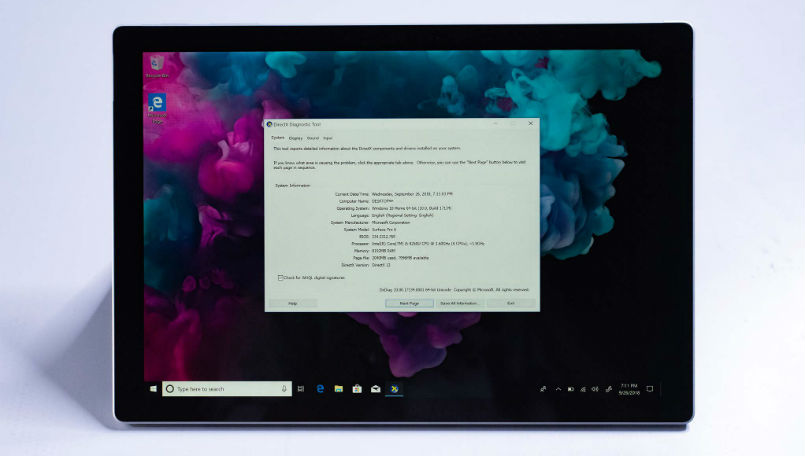 Microsoft Surface Pro 6 leaked images reveal tweaked design and updated hardware