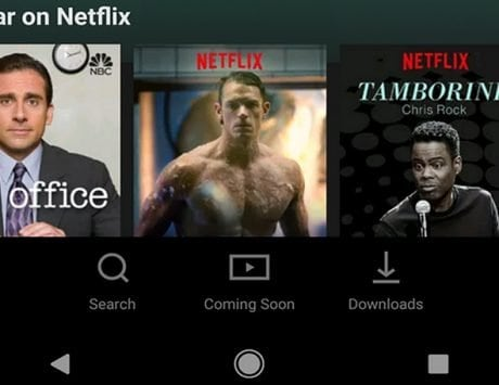 Netflix updates Android app with new UI; now has a bottom navigation bar