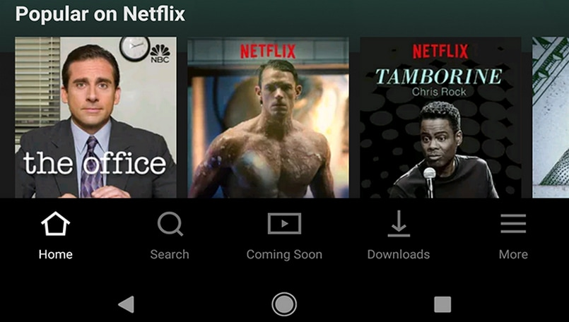 Netflix for Android app update brings revamped UI, navigation bar on the bottom
