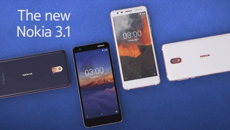 Nokia 3.1 starts receiving Android Oreo OTA update in India