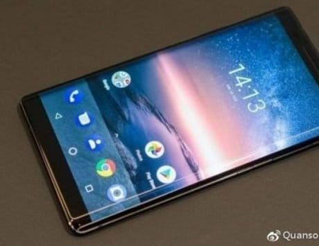 Nokia 9 leaked real-life photo shows the front part of the upcoming smartphone