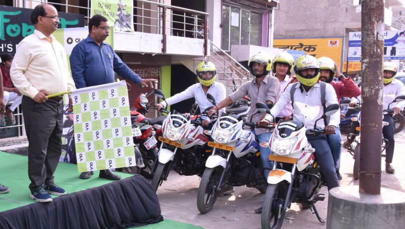 Ola Bike service launched in Agra