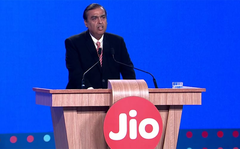 Reliance Jio to charge voice calls to rival networks at 6 paise per minute