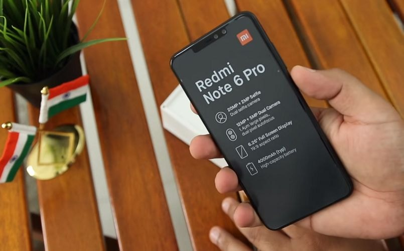 Xiaomi Redmi Note 6 Pro hands-on video confirms notched display, quad cameras and more