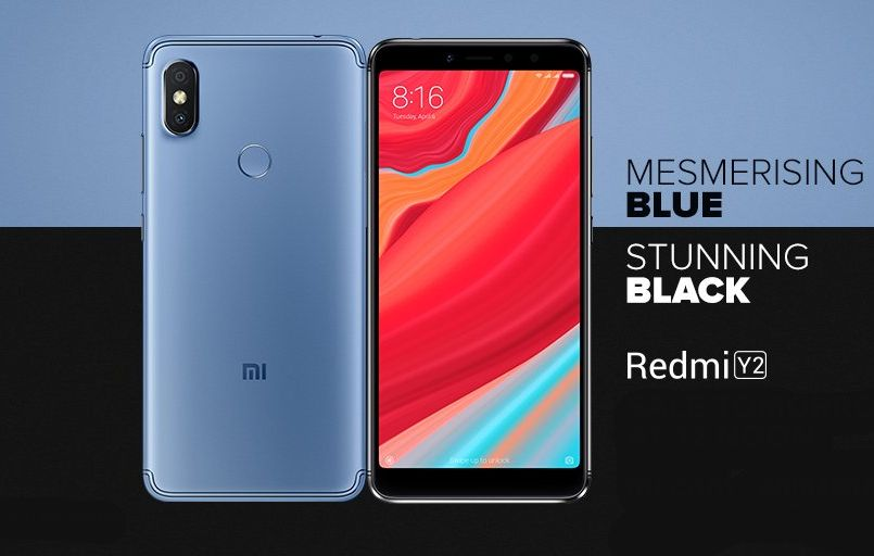 Xiaomi Redmi Y2 'Mesmerising Blue' and 'Stunning Black' color variants announced in India