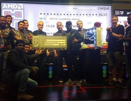 OpTic India Gaming CSGO team wins AMD's flagship gaming event GameOn 2018