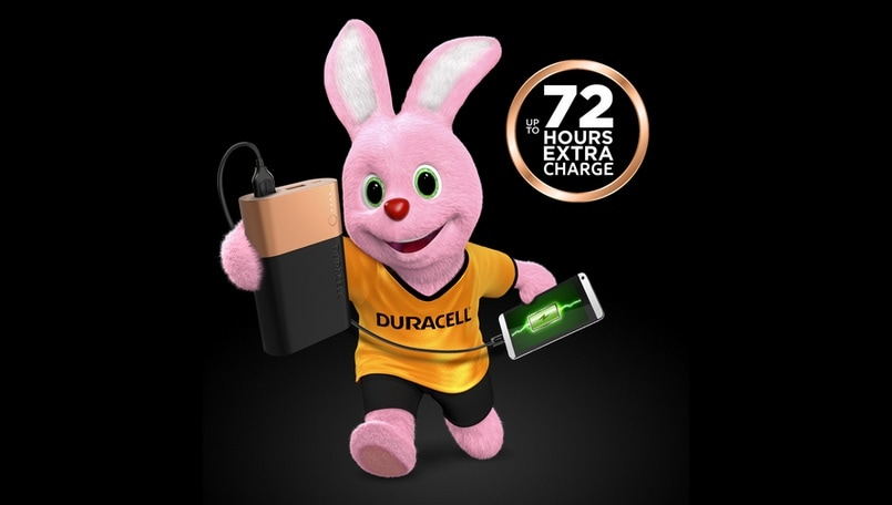 Duracell powerbanks 10,050 mAh