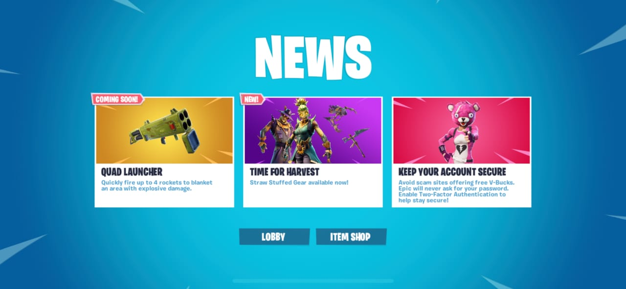 Fortnite Will Be Introducing A Quad Launcher To The Game