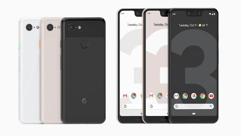 Google Pixel 3, Pixel 3 XL India availability confirmed for November 1