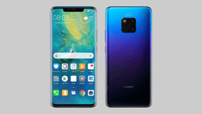 Huawei Mate 20 Pro renders WinFuture lead