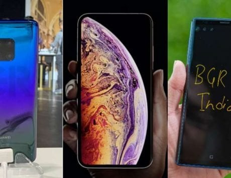 Huawei Mate 20 Pro vs Apple iPhone Xs Max vs Samsung Galaxy Note 9