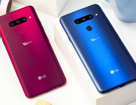 LG V40 ThinQ with 5 cameras launched