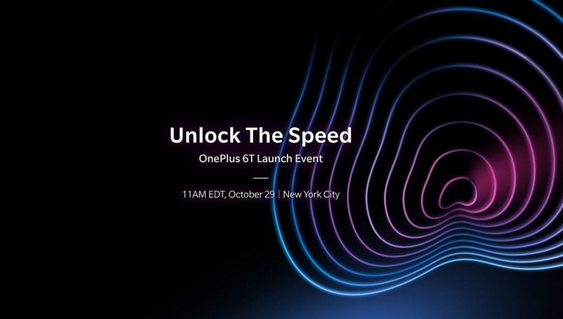 OnePlus 6T launch event live updates