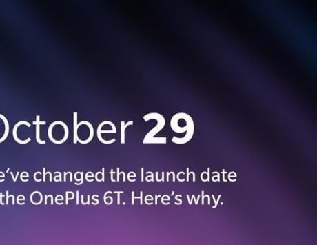OnePlus 6T launch event pushed to October 29 to avoid clash with Apple