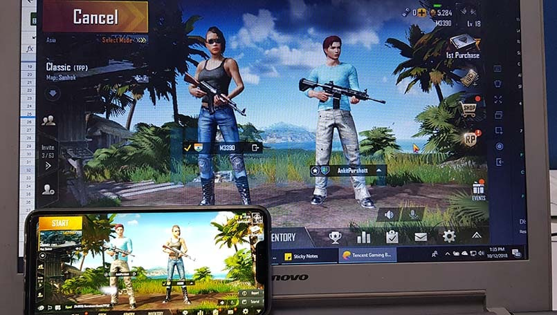 PUBG Mobile allows players on emulators and mobile to be matched by choice