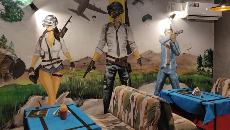 Tweaked Pubg Mobile To Look Like The Pc Version Pubgmobile: There's A PUBG Themed Restaurant In Jaipur Now And You May