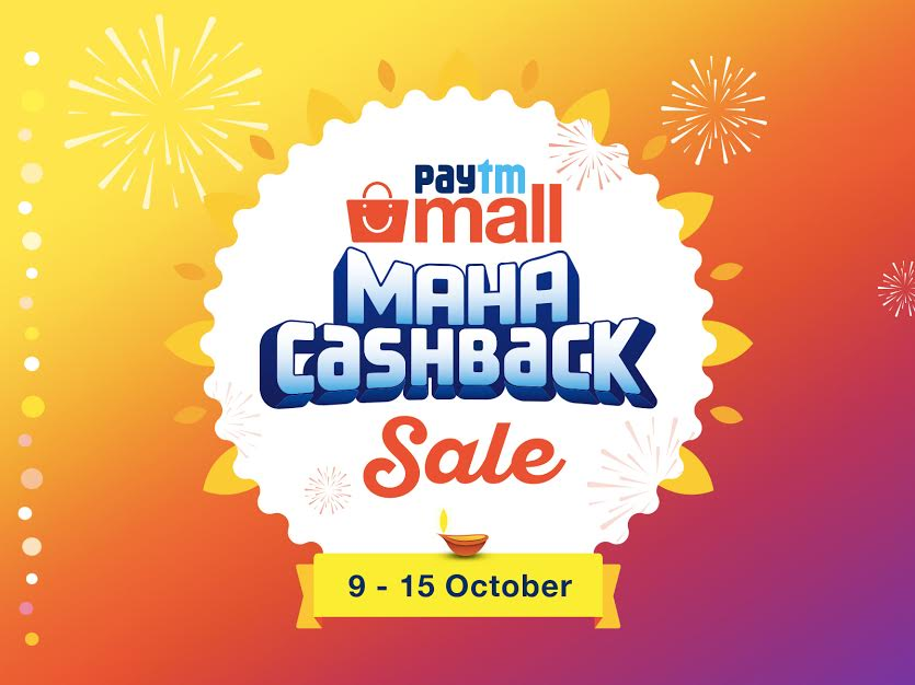 Paytm Maha Cashback Sale set to go live from October 9: Deals on mobiles, laptops, and others