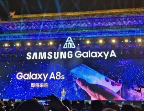 Samsung Galaxy A8s teased to have a bezel-less display could have a hole in the display
