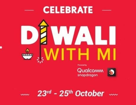Diwali with Mi Sale event starts from October 23 to 25; Xiaomi brings new discounts to its fans and customers
