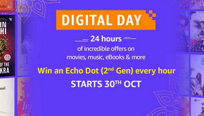 Amazon Digital Day kicks off on October 30; offers on Echo, Kindle, Prime subscriptions and more