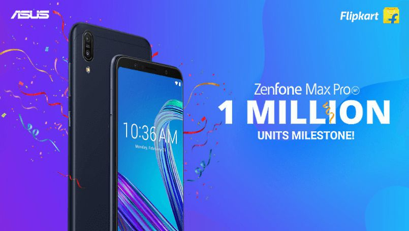 Over 1 million Zenfone Max Pro M1 units sold since launch: Asus