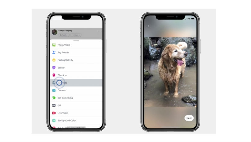 Facebook turns your iPhone portrait mode images into 3D photos