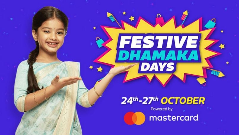 Flipkart Festive Dhamaka Days sale kicks off on October 24; deals on Vivo V9, Oppo F9, Lenovo K8 Plus and more