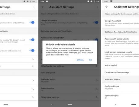 Google may remove    Voice Unlock    feature from Android devices