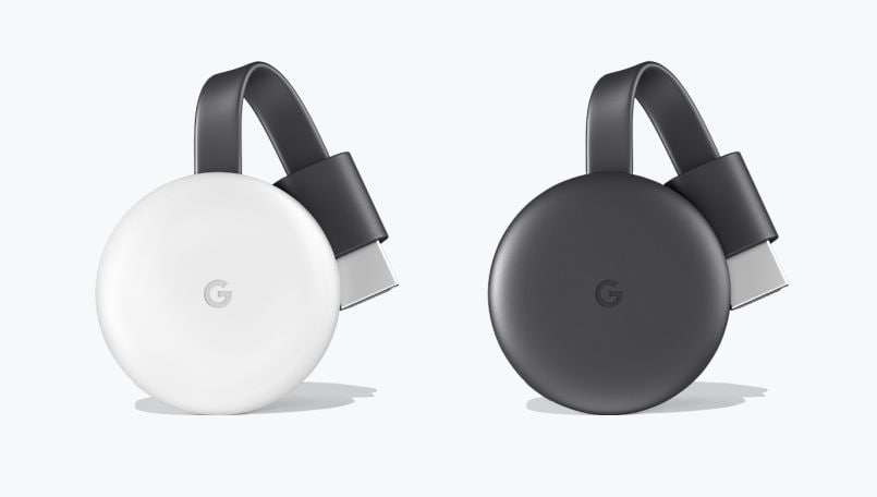 Google Chromecast 2018 launched in two colors and 60fps 1080p streaming