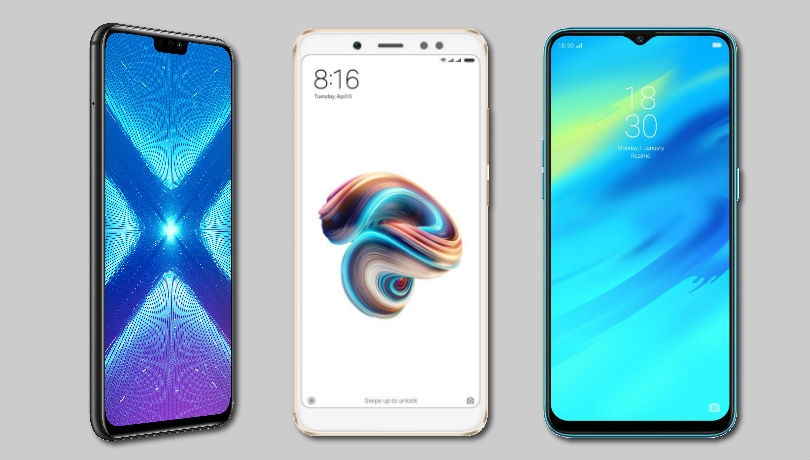 Honor 8X vs Xiaomi Redmi Note 5 Pro vs Realme 2 Pro: Price in India, specifications and features compared