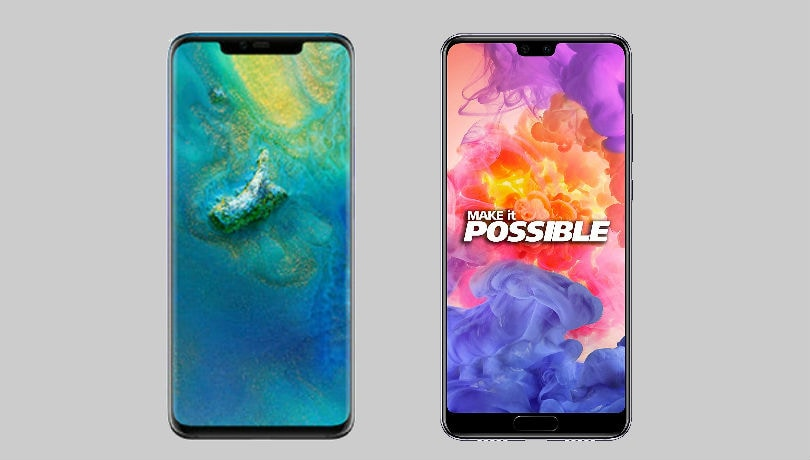 Huawei Mate 20 Pro vs P20 Pro: Here's what's different