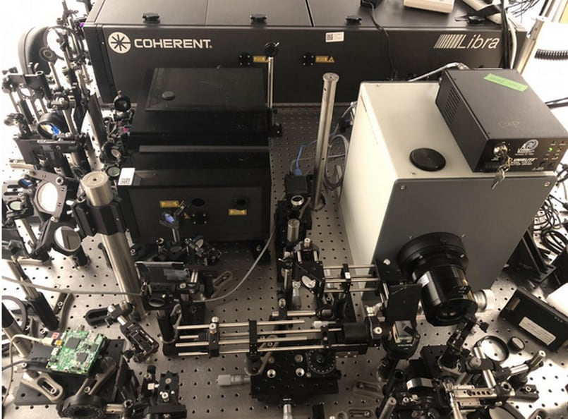 This is the world's fastest camera capable of shooting 10 trillion frames per second