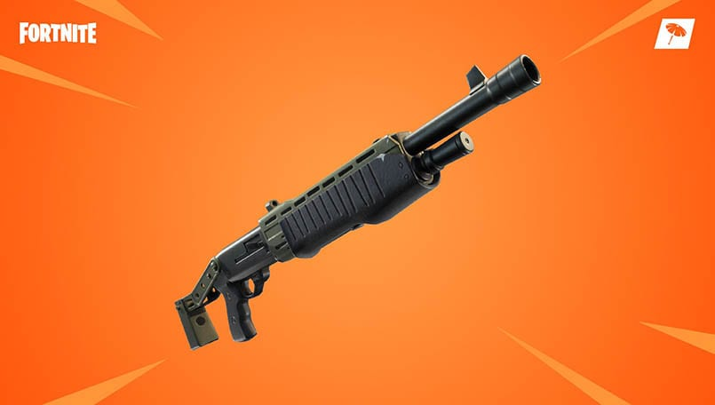 Fortnite is about to get two new powerful shotguns