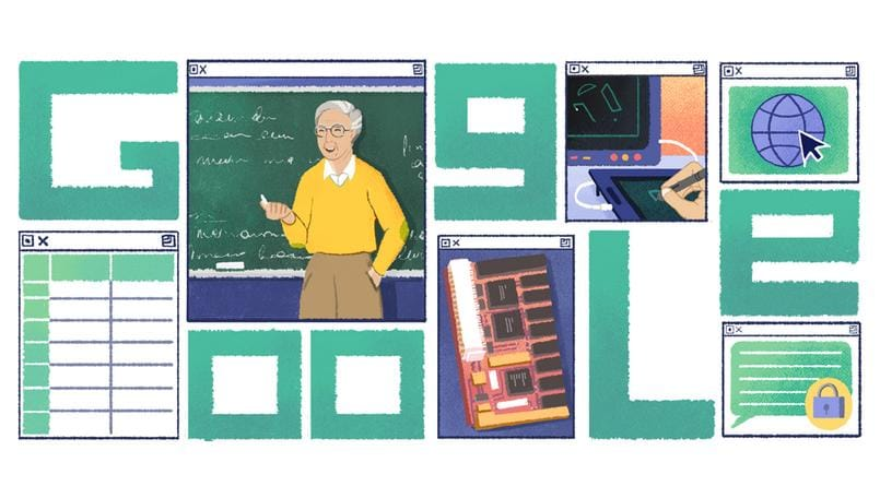 Computer scientist Michael Dertouzos dedicated a Google doodle on his 82nd birthday