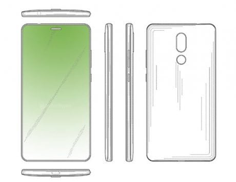 Huawei's future smartphone patent reveals hidden in-display front camera