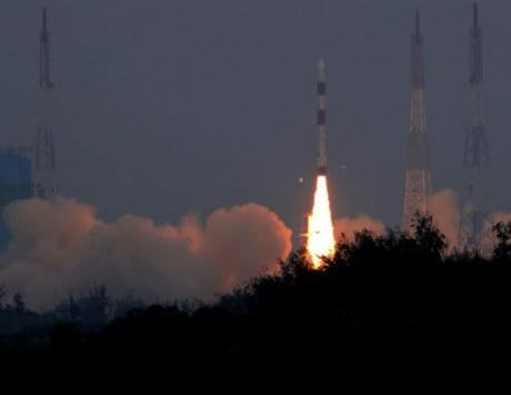 ISRO's PSLV-C43 successfully places into orbit HysIS along with 30 satellites